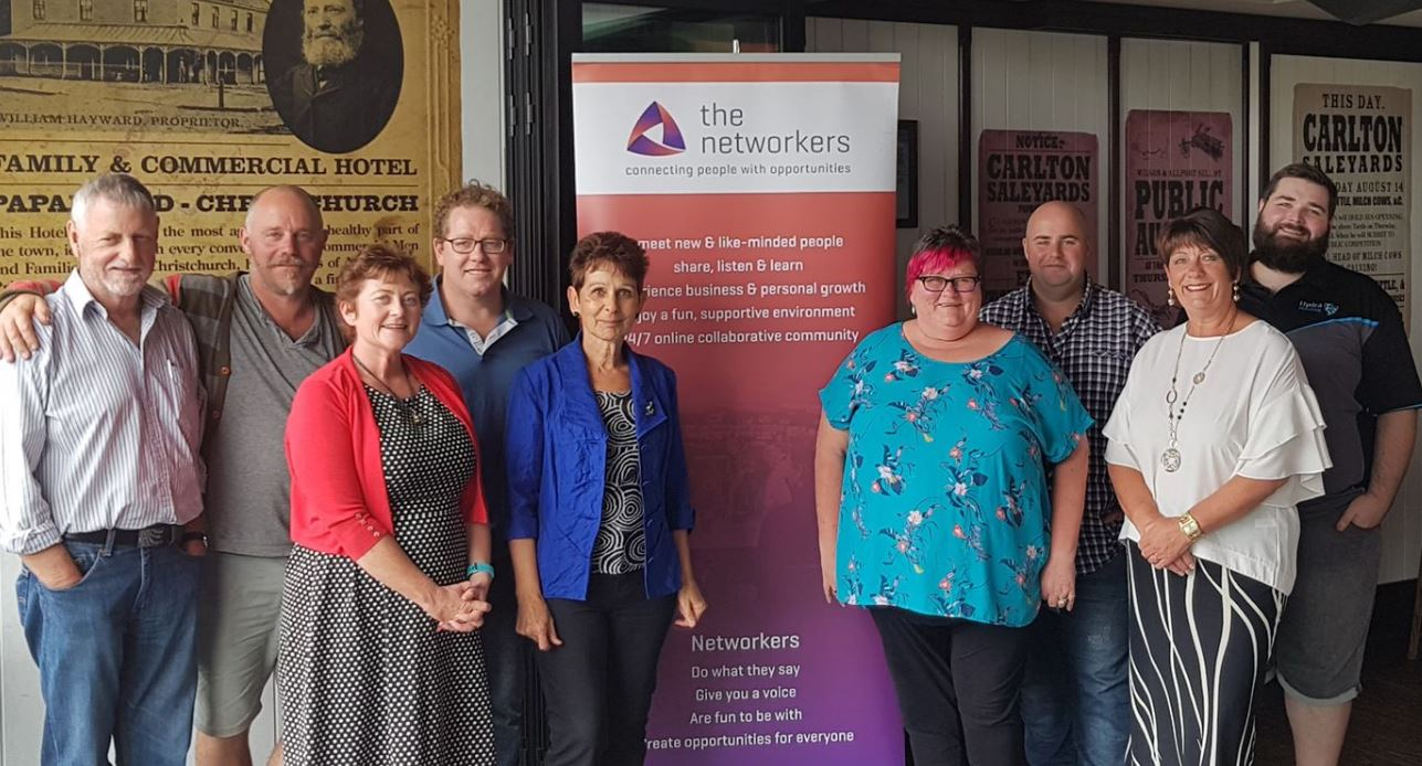 Group Facilitators for The Networkers groups in Christchurch