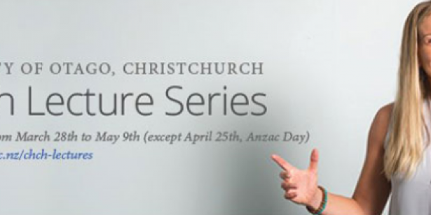 University of Otago, Christchurch - Health Lecture Series