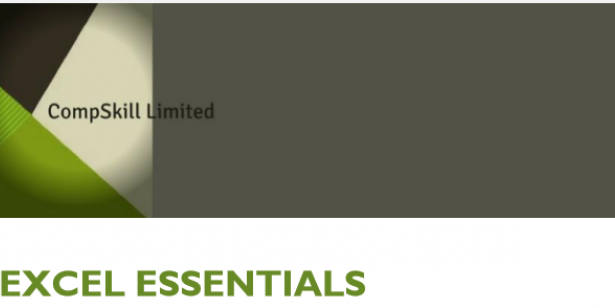 Compskill offer Excel Essentials