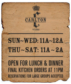 Carlton Bar & Eatery