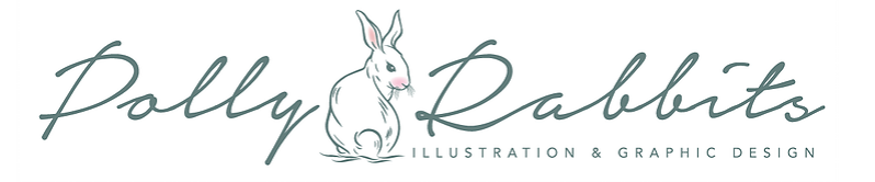Polly Rabbits Illustration and Design